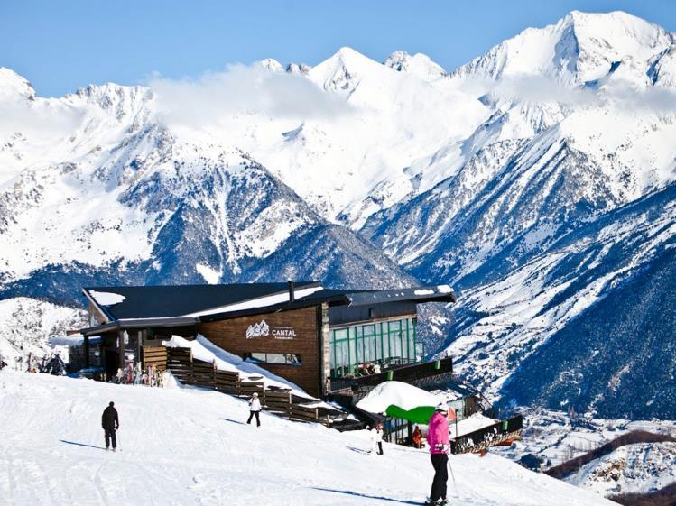 Restaurante Cantal Formigal rutas de esqui en formigal