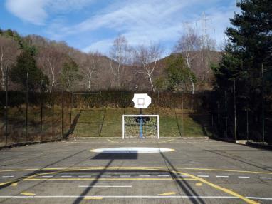 pista de baloncesto