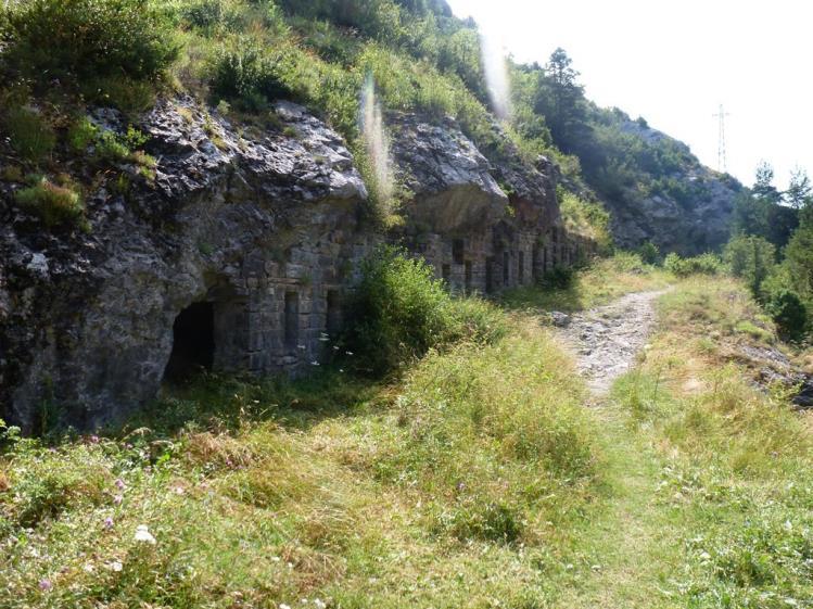 Refugio de Santa Elena linea pirineos